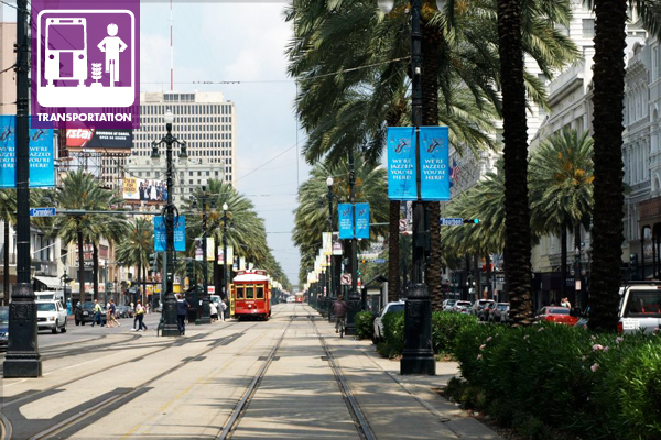 Canal Street in New Orleans image: Alexandra Hay