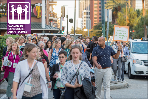The 2016 WILA Walk in New Orleans during the ASLA Annual Meeting and EXPO last month image: Event Photography of North America Corporation (EPNAC)