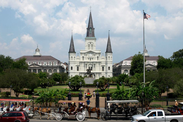 New Orleans' Jackson Square image: Alexandra Hay