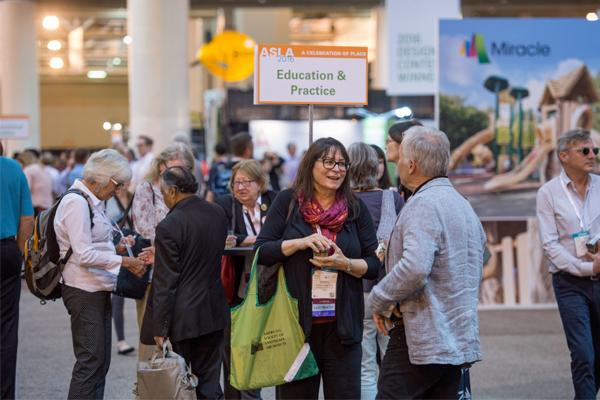 Each PPN had a spot on the EXPO floor to meet during the PPN Reception. image: Event Photography of North America Corporation (EPNAC)