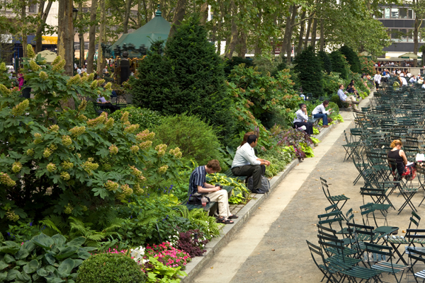 Bryant Park, New York, NY, 2010 Landmark Award image: Peter Mauss/Esto