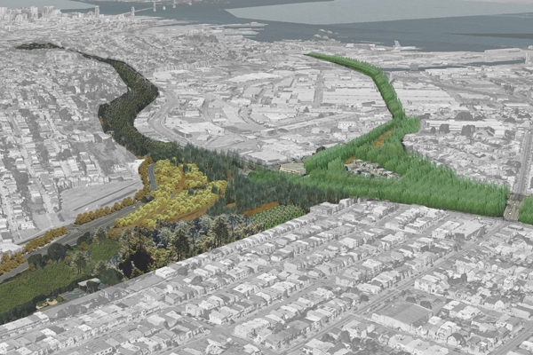 50,000 Trees, 2013 Student ASLA Honor Award, General Design Category Image:  Sarah Moos