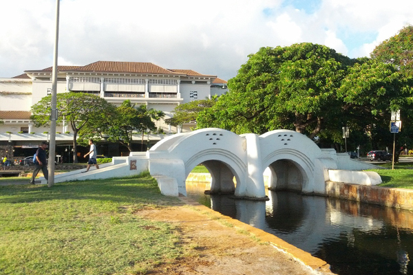 Ala Moana Park (HALS HI-21). Bridle Path Bridge. image: Library of Congress, Prints and Photographs Division, HALS HI-21