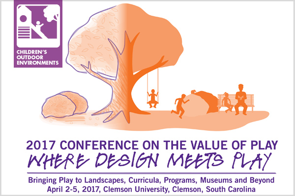 Conference on the Value of Play: Where Design Meets Play image: US Play Coalition