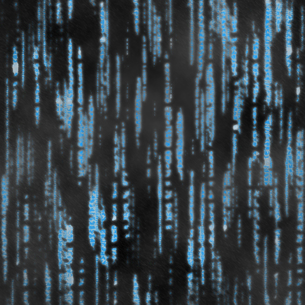 Digital rain image: Matthew Wilkins