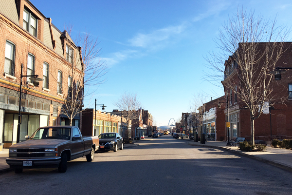 14th Street Streetscape with a view towards downtown / image credit: Shawn Balon