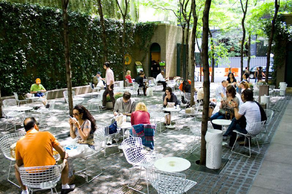 Social places private spaces the field - Social life in small urban spaces model ...