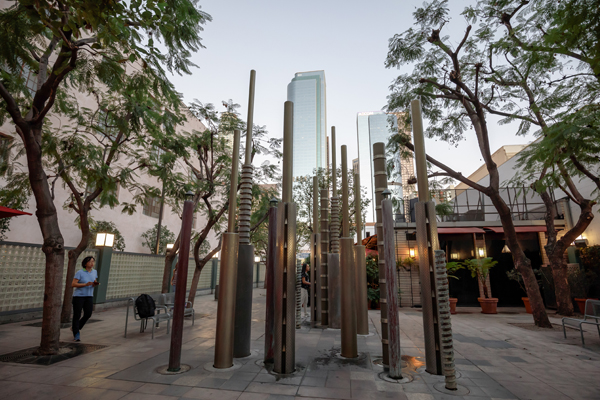 The Los Angeles Women In Landscape Architecture Walk The Field