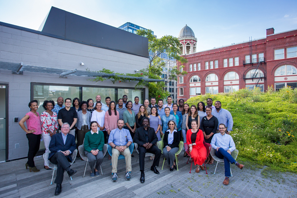 2017 Diversity SuperSummit participants at the ASLA Center for Landscape Architecture / image: EPNAC