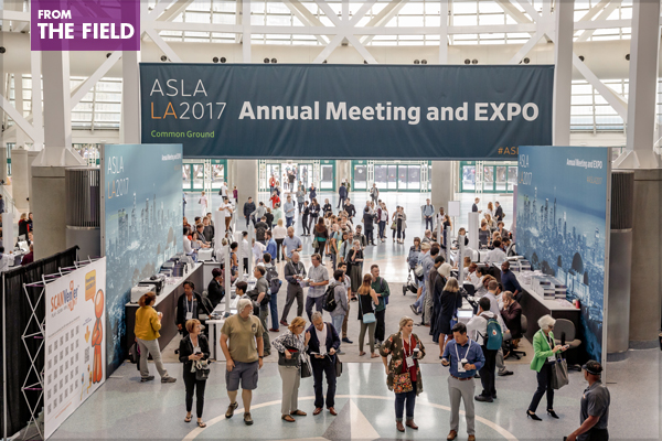 ASLA 2017 Annual Meeting and EXPO Session Recordings