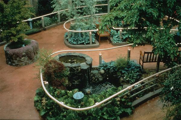 Icons of healthcare therapeutic garden design clare for Garden design victoria bc