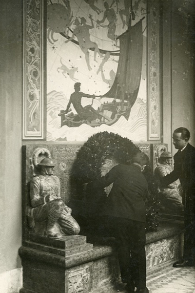 The Thrasher Ward Memorial At The American Academy In Rome An