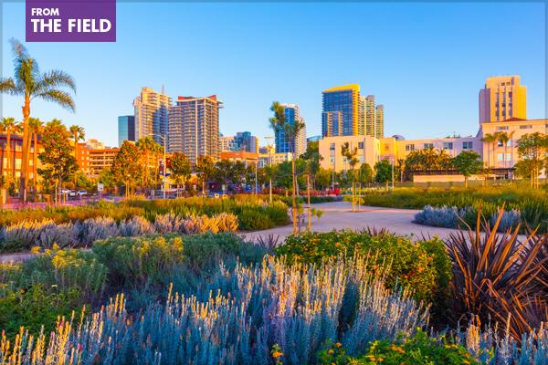 San Diego's Waterfront Park