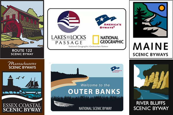 What is Your Favorite Scenic Byway and Scenic Byway Logo?