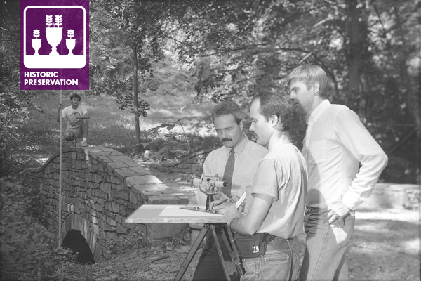 Dumbarton Oaks Park recording project