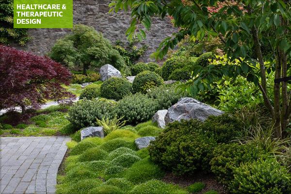Edinburgh residence garden